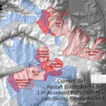 Current Ski Resort Boundaries + Lift Accessed Backcountry and Heli-Skiing Permit Areas